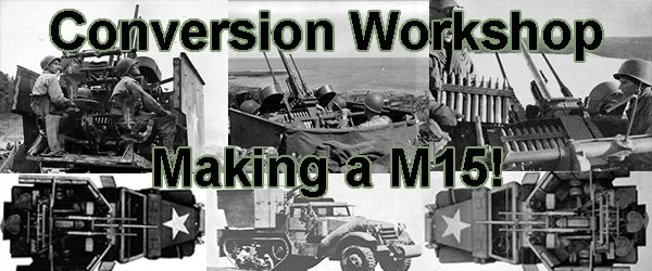 Hobby: M15 CGMC AA Halftrack Conversion - Warlord Games