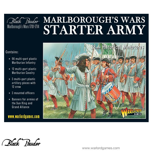 302015001 BP Marlborough's Wars Starter Army cover