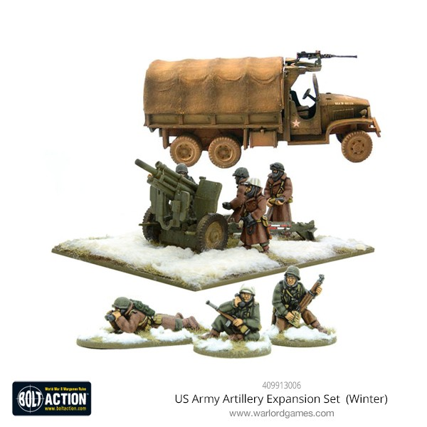 409913006 US Army Artillery Expansion Set (Winter)