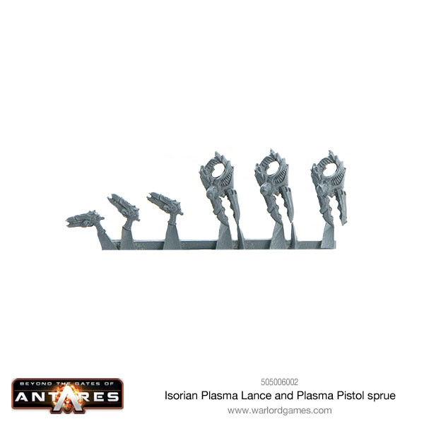 505006002-Isorian-Plasma-Lance-and-Plasma-Pistol-sprue