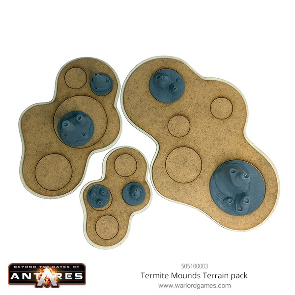 505100003 Termite Mounds Terrain pack B