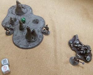 11, Tectorists move onto an objective turn 5