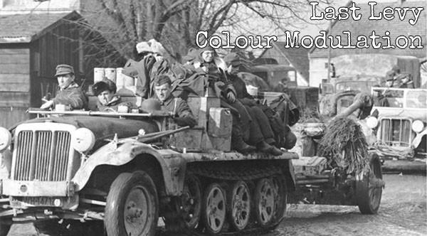 Rückzug deutscher Truppen auf Breslau