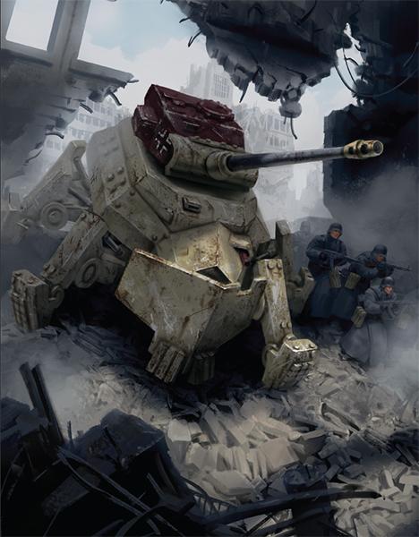 German Zeus Panzermech
