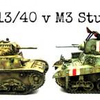 Head to Head: M13/40 vs M3 Stuart