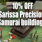 10% Off Sarissa Samurai Terrain