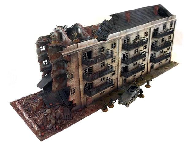 Stalingrad Pavlovs house 9