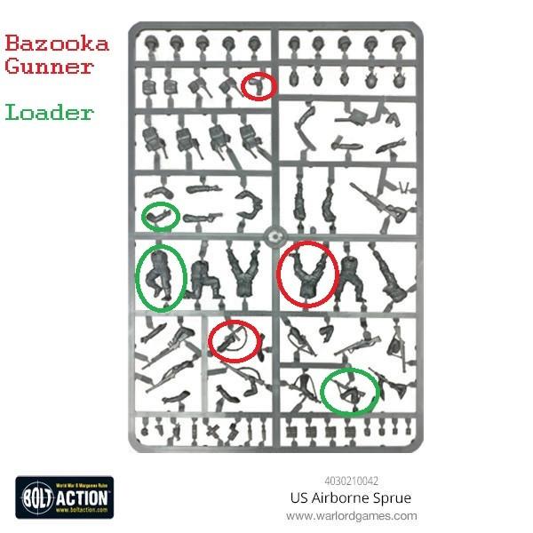 Us airborne Set A Bazooka