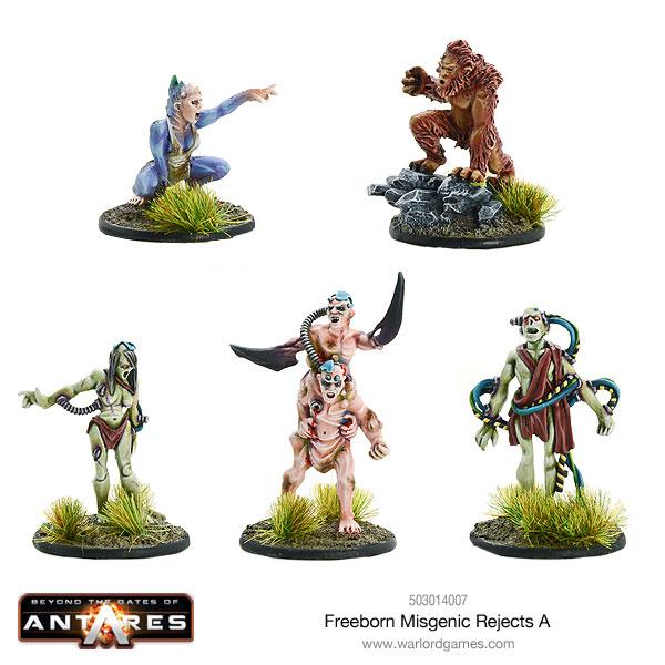 Nouveautés mars: Freeborn 503014007-Freeborn-Misgenic-Rejects-A-01