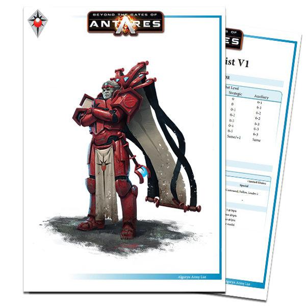 Algoryn Army List PDF Cover