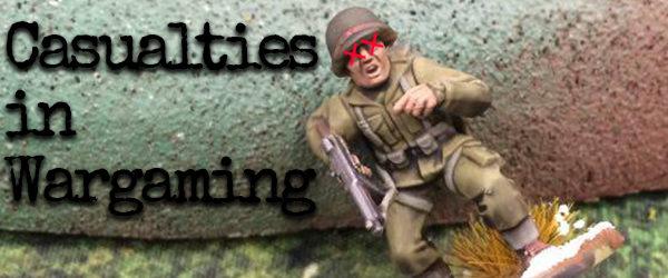 Casualties in Wargaming Banner MC