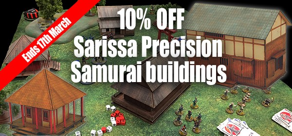 Sarissa discount end 17thMarch