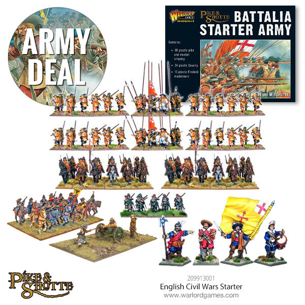 209913001 English Civil Wars Starter