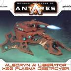 New: Algoryn Liberator with Plasma Destroyer