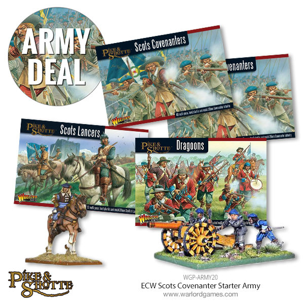 WGP-ARMY20 ECW Scots Covenanter Starter Army