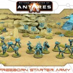 New: Freeborn Starter Army + Expansion Set