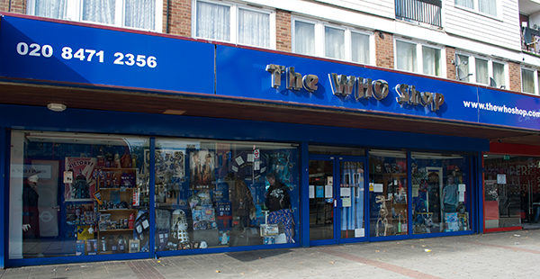 Dr Who Shop London B