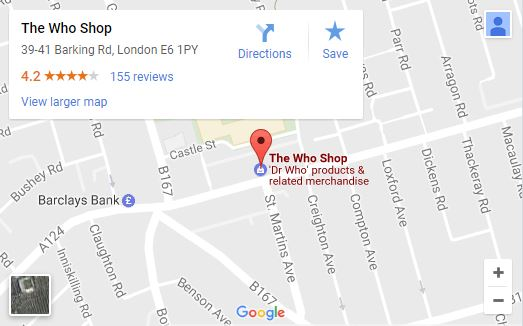 Dr Who Shop London C