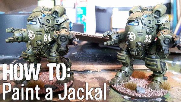Jackal-Banner