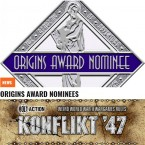 Konflikt '47 nominated for Best Miniatures Game at the Origins Awards 2017!