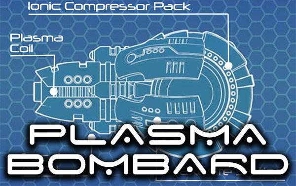 plasma bombard