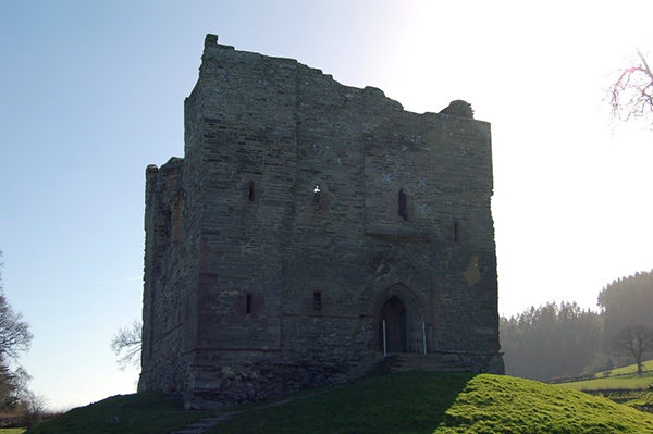 Hopton Castle, Shropshire, scene of an infamous massacre in early 1644