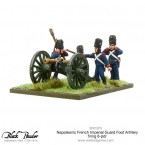 New: Napoleonic French Imperial Guard Foot Artillery 6-pdr