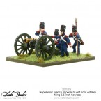 New: Napoleonic French Imperial Guard Foot Artillery Howitzer