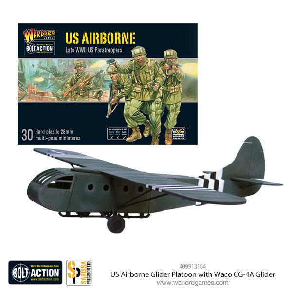 409913104-US-Airborne-Glider-Platoon-with-Waco-CG-4A-Glider
