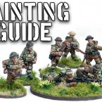Painting British Expeditionary Force Infantry 1940