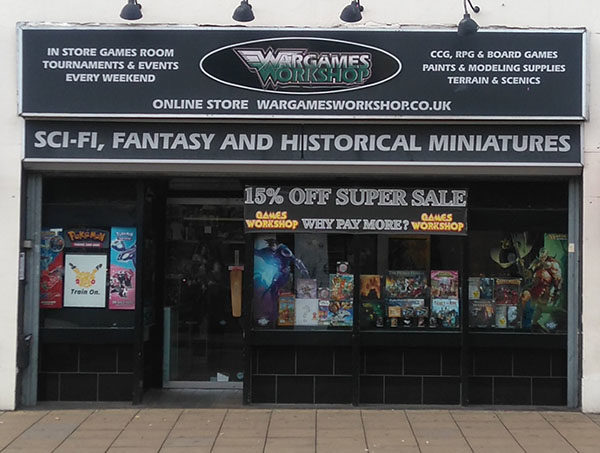 Store Highlight Wargames Workshop Warlord Games