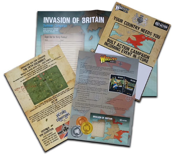 Invasion of Britain Trade Pack