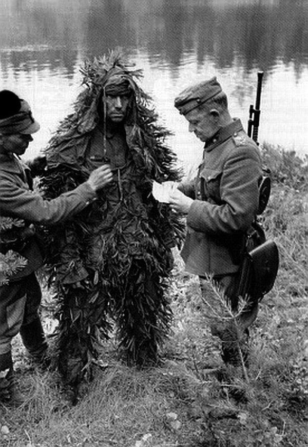 Russian sniper captured by Finns