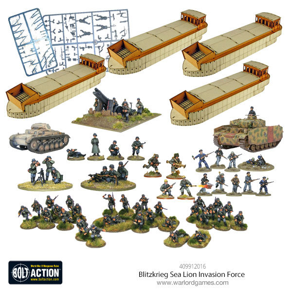 Blitzkrieg invasion force