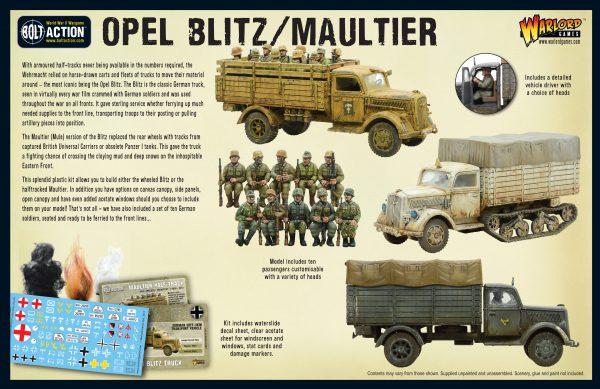 Opel Blitz/Maultier Box Rear