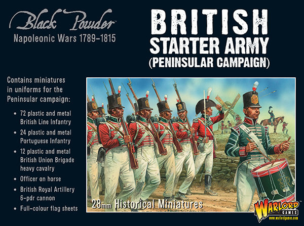 Black Powder British starter army box