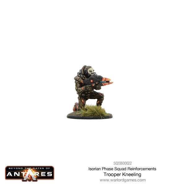 Isorian Phase Squad trooper kneeling