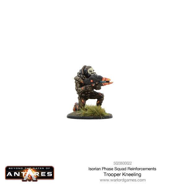 Isorian Phase Squad trooper kneeling