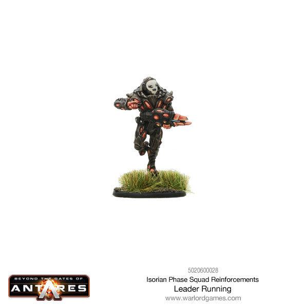 Isorian Phase Squad leader running
