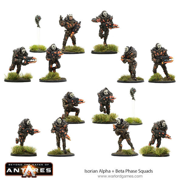 Isorian Phase Squad troopers - Alpha and Beta squads