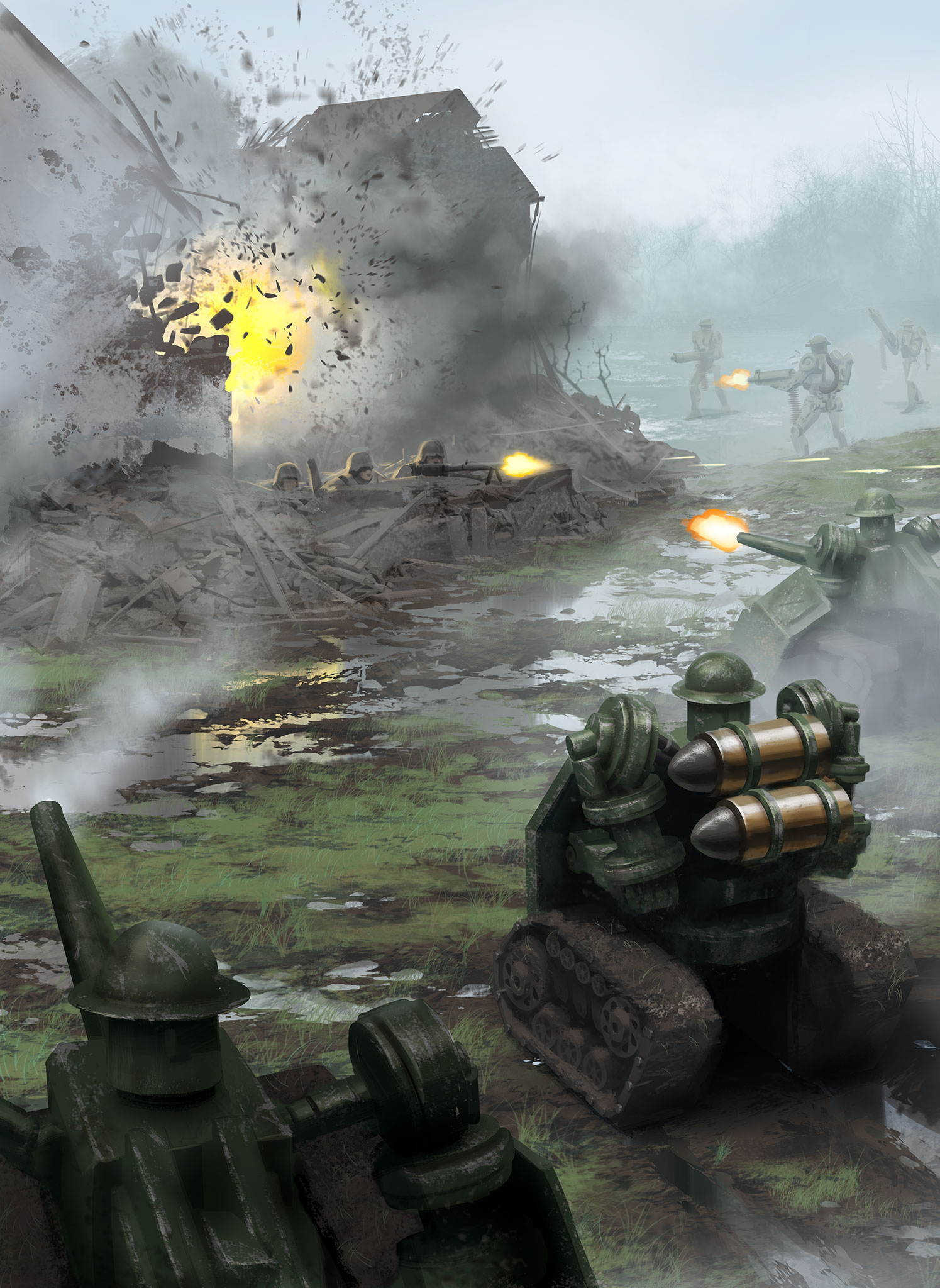 The Konflikt '47 rulebook is a stand-alone rule set designed using the Bolt  Action World War II tabletop wargame. It contains all the rules, background  and ...