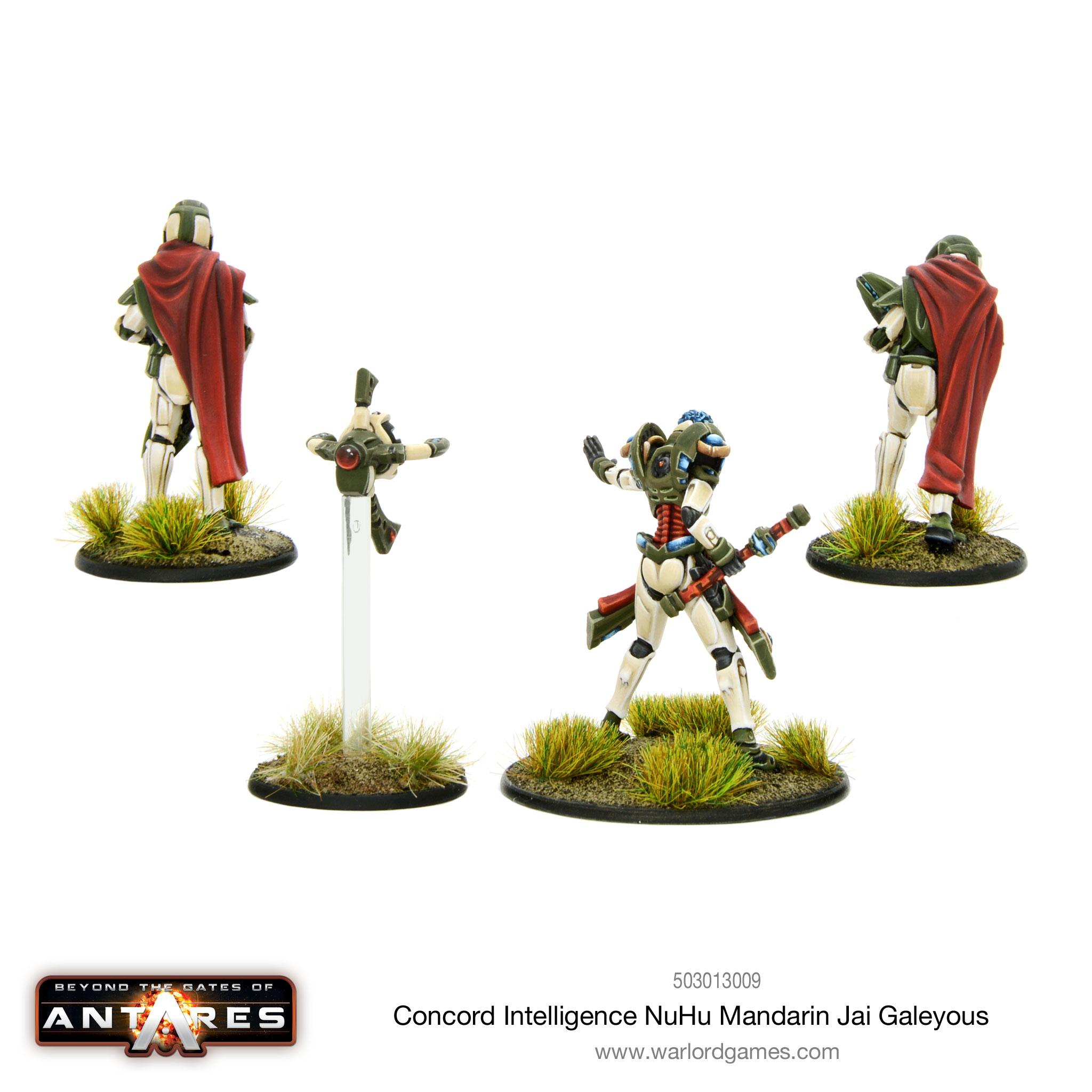 Jai Galeyous – Concord Intelligence NuHu Mandarin - reverse angle