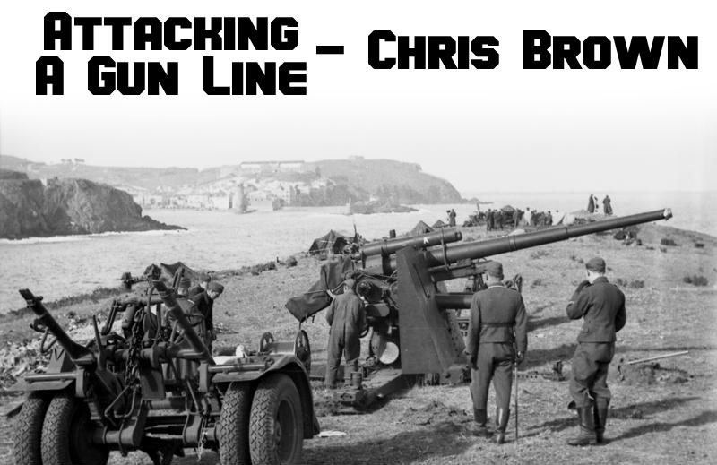 Bolt Action: Attacking the Gun Line - Warlord Games