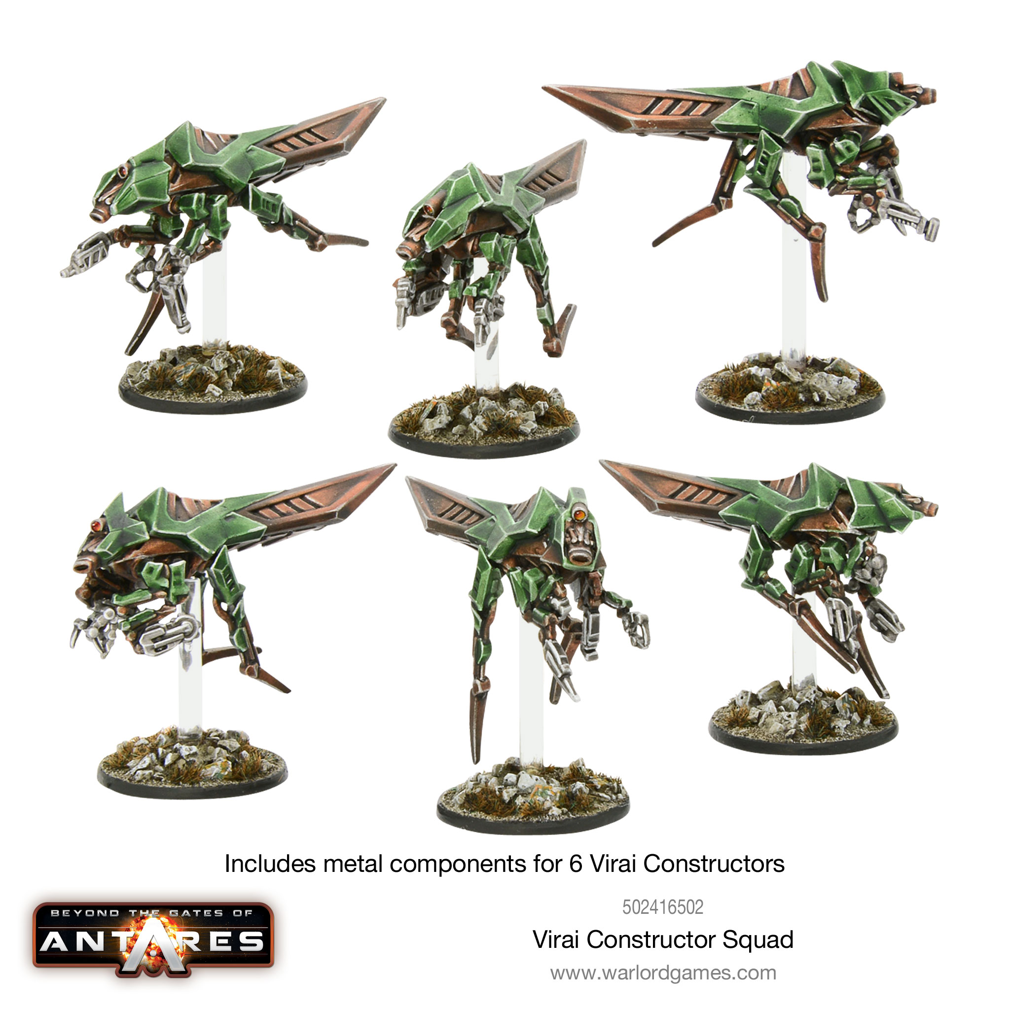 New: Virai Dronescourge Constructor squad - Warlord Games