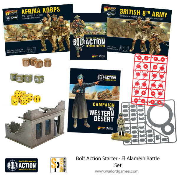 El Alamein Battle Set - Bolt Action Starter