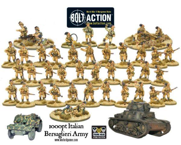 1000pt Ityalian Bersaglieri Army