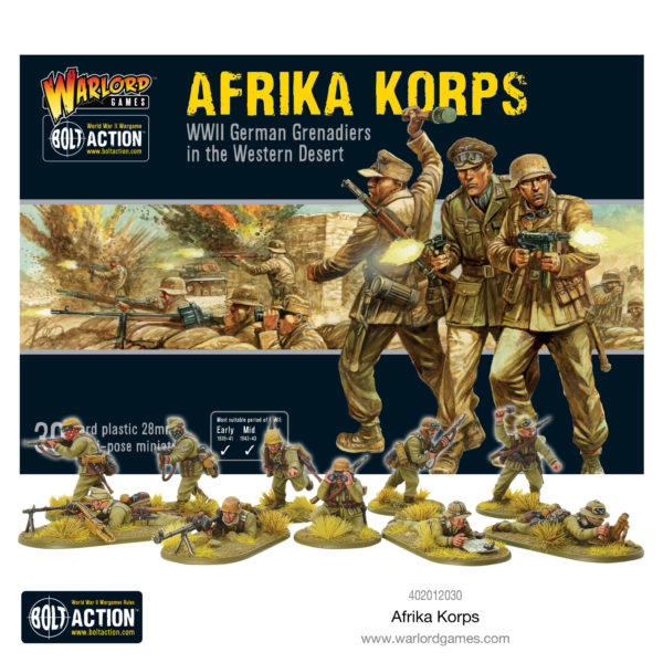 Afrika Korps plastic box set