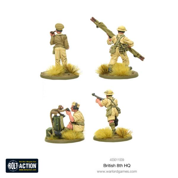 British 8th Army HQ rear