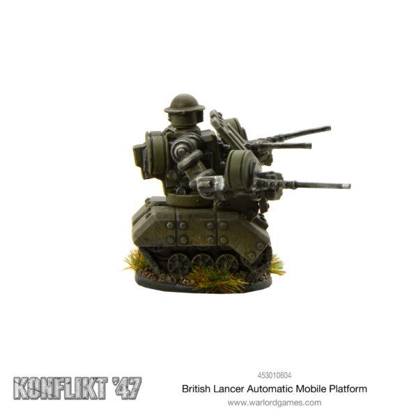 British Lancer Automated Mobile Platform
