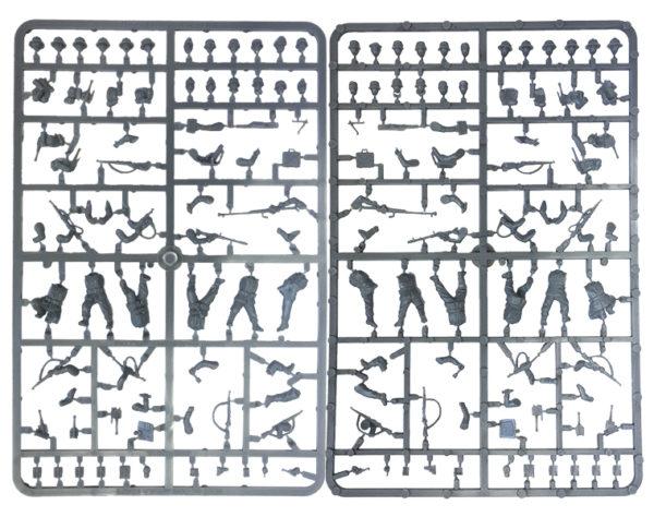 plasticAfrika Korps frames